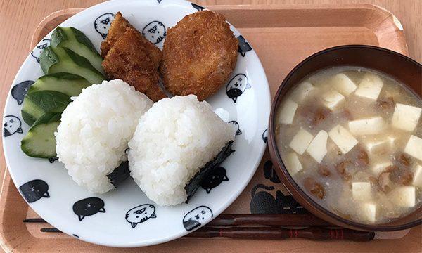 夏休み昼ご飯_なめこ味噌汁
