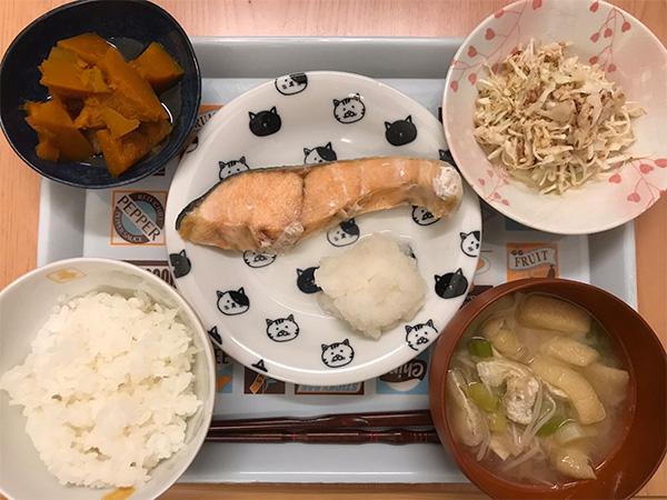 健康的な夕食2