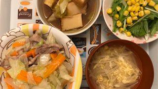 健康的な夕食3
