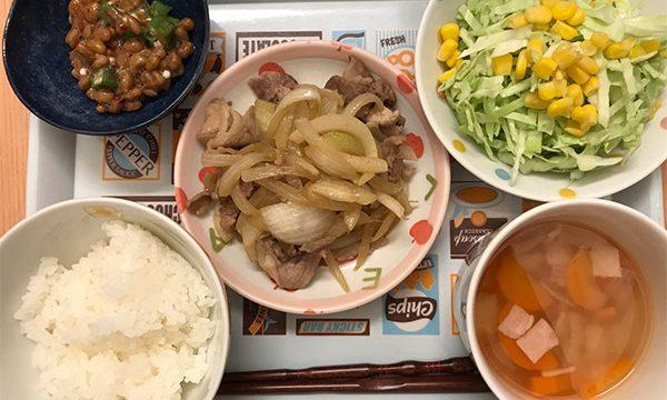 定番生姜炒め4
